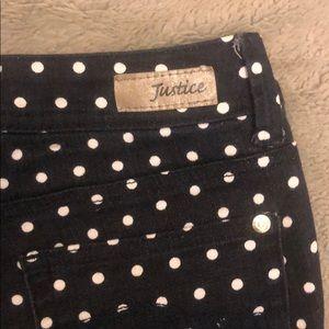 Justice Bottoms - Justice Polka Dot Jeans-Offer/Bundle to Save